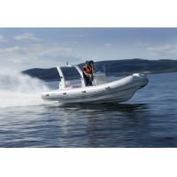 Buy cheap Rigid Bottom Inflatable Boat , Inflatable Pontoon Fishing Boats With Motors from wholesalers