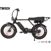 Buy cheap TM-BGL-ATV08  Mid Drive Electric Battery Powered Bike 48V 15AH Battery Charge Time 4-6 Hours from wholesalers