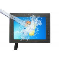 Buy cheap 8 Inch Waterproof Touch Monitor / 4 Wire Resistive Touch Screen 12-24V Working product