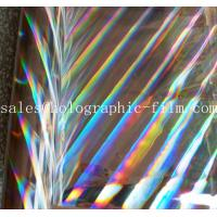 Buy cheap customized seamless pillar of light thermal & hot holographic  lamination film for paper board by hot lamination machine from wholesalers