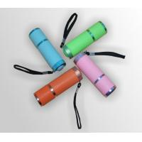 Wholesale AAA Battery 9 Mini Led Flashlight With White Light For Gift from china suppliers