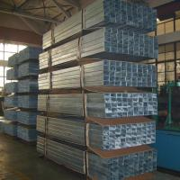 Buy cheap High Strength Rectangular Structural Steel Tubing , Custom Galvanized Square Pipe from wholesalers
