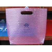 Wholesale Clear Bubble Handle Bag with Pink Color from china suppliers