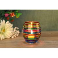 Buy cheap Home Wedding Decorative Glass Candle Holder Popular Christmas Gift from wholesalers