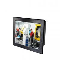 Buy cheap 15XGA industrial touchscreen LCD panel mount panel PC computer IP65 Front from wholesalers