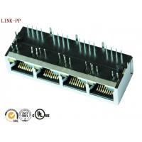 Buy cheap IEEE 802.3 POE RJ45 Modular Jack / Right Angle RJ45 LPJ46514AENL from wholesalers