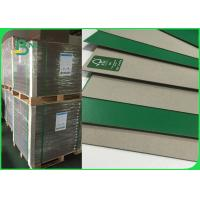 Buy cheap FSC 1 . 2 mm Good Stiffness Green Book Binding Board One Side Grey Board from wholesalers