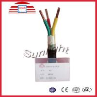 Buy cheap 600 / 1000v PVC Insulated And Sheathed Copper Conductor Electrical Cables , Wires from wholesalers
