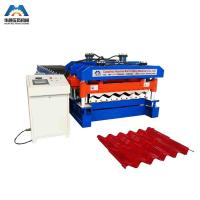 Wholesale Custom 13 - 22 Forming Station Metal Roof Tile Roll Forming Machine For Color Steel Tile from china suppliers