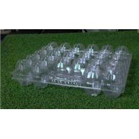 Buy cheap 28 Cavities Disposable Food Trays Rectangular / Egg Tray 5x6 Range from wholesalers