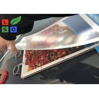 Buy cheap Ultra Thin Super Bright A3 Size Magnetic Light Box With Single Cable Hanging System for Shop Adversiting from wholesalers