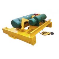 Buy cheap 0.25-500t Electric Wire Rope Hoist Trolley For Double Beam Heavy Duty Crane from wholesalers