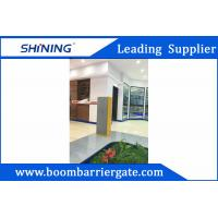 Electronic Boom Barrier Gate For Indoor Exhibition Hall With Manual Button
