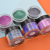Buy cheap Nail Supplier Purple Color Glitter Nail Fast Drying Dipping Powder 2oz/jar from wholesalers