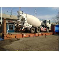 Buy cheap Sinotruck new concrete mixer truck with Air conditioner cabin for sale from wholesalers