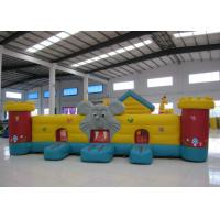 Buy cheap Cute Animal Inflatable Kids Bounce House , Elephant Dog Animals Inflatable Fun House from wholesalers