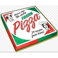 Buy cheap Pizza Box Packaging , Paper  Box Packaging For Frozen Pizza CMYK Printing from wholesalers