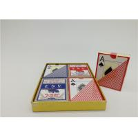 Buy cheap Custom Design Casino Plastic Playing Cards YH18 Both Side Matte Finish from wholesalers
