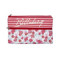 Wholesale Monogrammed Girl Neoprene Pencil Cases Zipped Nice Practical OEM / ODM from china suppliers
