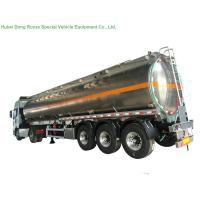 Buy cheap 5083 Aluminium Alloy Tank Semi Trailer 40000L , Fuel Oil Delivery Tanker 3 Axle from wholesalers