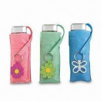Buy cheap Umbrellas, Plastic Handle with Keyring and Aluminum Ribs and Shaft from wholesalers