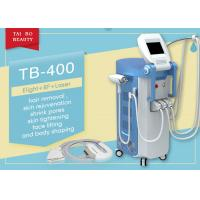 China Touch Screen IPL RF ND Yag Types Of Laser Hair Removal Tattoo Removal Machine on sale