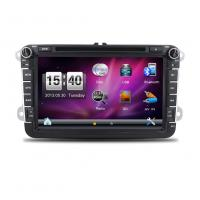 Buy cheap 8 inch touch screen Double dins car GPS multimedia navigator for VW from wholesalers