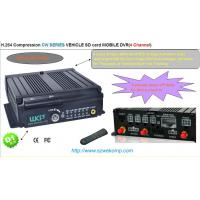 Buy cheap Dual steaming SD Card Mobile DVR Recorder Embedded Linux operation With 4 Channels from wholesalers