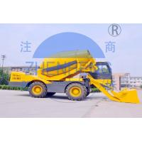 China Batch Type Self Loading Concrete Mixer High Speed Productivity For Rural Construction on sale