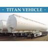Buy cheap Petrol Three Axle Oil Fuel Tanker Trailer 50000 Liters Steel Q345 from wholesalers
