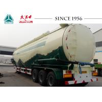 Buy cheap 105 CBM Bulk Cement Tanker Trailer High Durability For Carrying Mineral Power from wholesalers