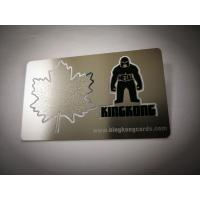 Buy cheap Glossy Custom Metal Bookmarks Cut Out / Etching Printing Logo Stainless Steel Bookmark from wholesalers