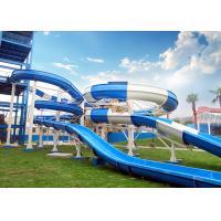 Wholesale 400 Riders / H Capacity Boomerang Water Slide 3.2 - 58 M Slide Diameter from china suppliers