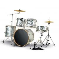 Wholesale Quality Radium series 5 drum set/drum kit OEM various color-B524Q-801 from china suppliers