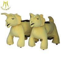Buy cheap Hansel electrical toy animal riding and motorized animals from guangzhou with plush animal electric scooter from wholesalers