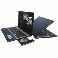 Buy cheap 15.6-inch Laptops with DVD Burner, Intel D2700 Dual Core, 2GB/320GB HDD and 2.0-megapixel Camera from wholesalers
