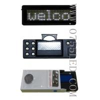 Buy cheap LED programmable badge LED tag display message 100% led manufacturer sale White pixel 7*29 80*30*5mm from wholesalers