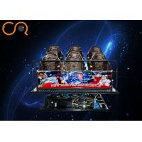 Buy cheap Exciting Roller Coaster 5D Cinema Equipment With Special Effects , 1 Year Guarantee from wholesalers