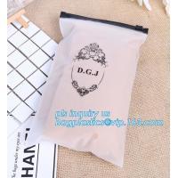 Buy cheap Apparel Garment Clothing package PE slider zip bag, zipper ziplock packaging bags with slider zipper,pvc packaging bags product