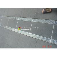 Buy cheap 316 / 304 Stainless Steel Bar Grating High Bearing For Trench Cover product