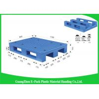 Buy cheap Durable Heavy Duty Plastic Pallets Transport Moving Anti - Slip With Steel Tubes Inside from wholesalers