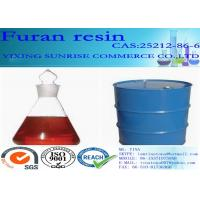 Buy cheap Furan Resin Foundry Chemicals CAS 2512-86-6 C5H6O2 Red Brown Transparent Liquid from wholesalers