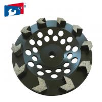 Buy cheap 5 inch Black Arrow Segmented Cup Wheel with Wet Grinding for Granite from wholesalers