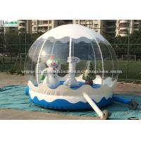 Quality Outdoor Bounce House Snowman Inflatable Kids Jumping Bouncer for Garden for sale