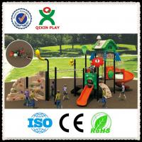 Wholesale Outdoor Playground Slide Used Playground Slides for Sale QX-015A from china suppliers