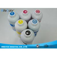 Buy cheap One Liter Waterbased Dye Sublimation Printer Ink For Epson / Roland / Mimaki Printers from wholesalers