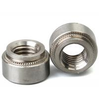 Buy cheap Stainless Steel Aluminum Blind Rivets Nuts Insert Round Head , Self Clinch Nuts For Sheet Metal from wholesalers