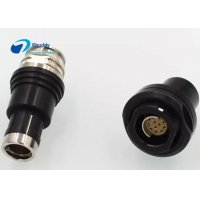 Buy cheap Vacuum Sealed Receptacle Fischer Compatible 2 - 14 Pin Multipole Circular Connectors from wholesalers