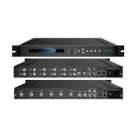 Buy cheap 18W Black 6 Tuners CATV Digital Headend System 6kg EN300 468 With NMS / SNMP from wholesalers