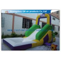 Buy cheap Funny Game Small Inflatable Water Slide / Kids Inflatable Garden Water Slides from wholesalers